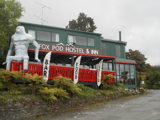 Fox Glacier Inn: Fox Pod Hostel & Inn