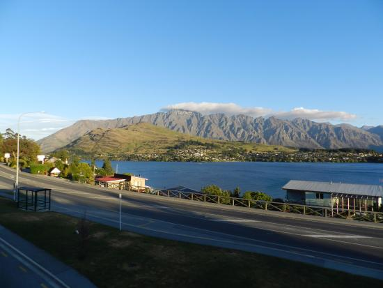 Pounamu Apartments: View from our apartment !