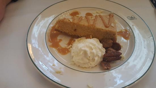 Galatoire's Restaurant: Sweet Potato Cheesecake