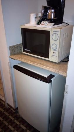 Quality Suites: microwave dated but worked