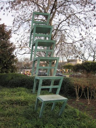 A Stack Of Chairs Sculpture 06 Dec 15 Picture Of National Gallery Of Art Sculpture Garden