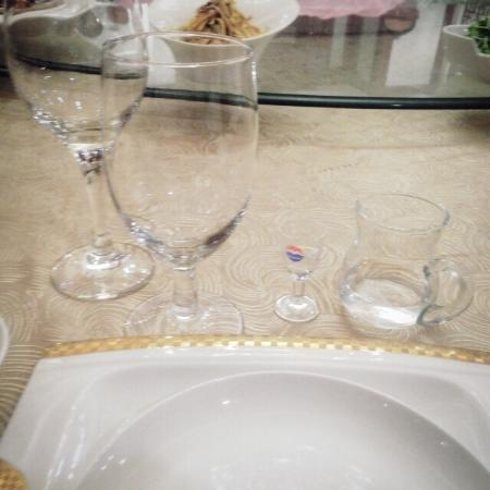 Beijing Yanshan Hotel: 식사, 깔끔하고 좋았습니다.