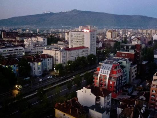 Rodina Hotel: View from room