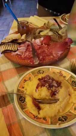 Parzanica, Italien: antipasti