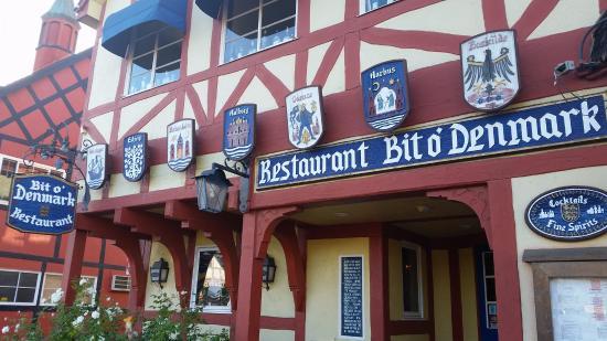 Bit O'Denmark Incorporated: The restaurant from outside