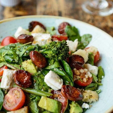 Ludo Lounge: Lounge big salad