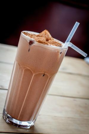 Chocolate milshake