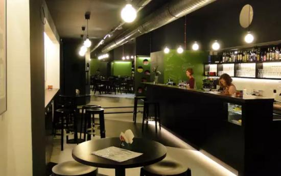 Aero Kino: The bar