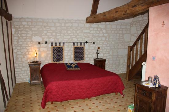 La Milaudiere: La chambre médiévale