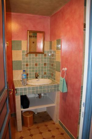 La Milaudiere: Salle de bain avec douche