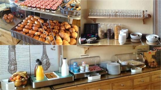 Hotel Restaurant Eden Park : Le petit-déjeuner Eden Park Hotel