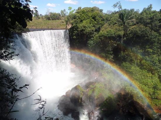 Cachoeira Da Fumaca: Arco-íris na Cachoeira da Fumaça