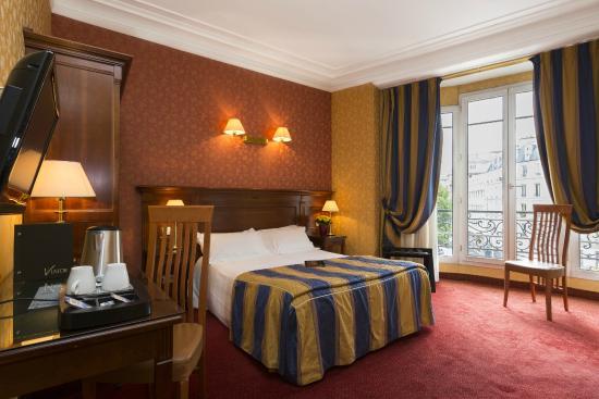 Hotel Viator - Paris Gare de Lyon: Chambre Rotonde - Rotonde room