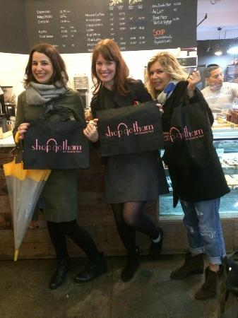 Shop Gotham NYC Shopping Tours : snack before shopping