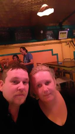 Casablanca Dine Drink Dance: Me and wife