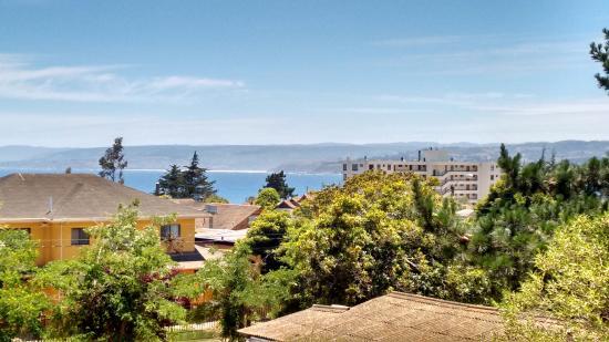 Algarrobo, Spanien: Vista do nosso quarto