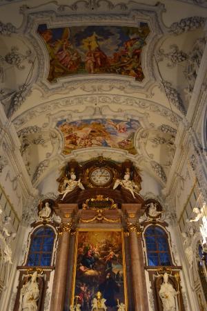 Benediktbeuern, เยอรมนี: Роспись на потолке