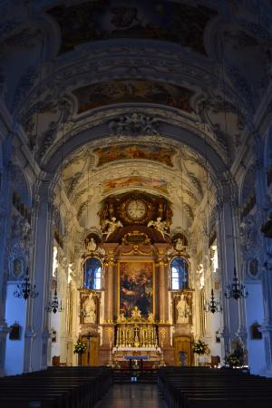 Benediktbeuern, เยอรมนี: Внутреннее убранство собора