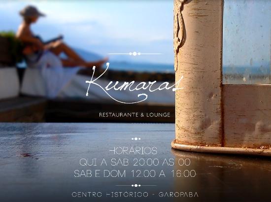 Kumaras Restaurante & Lounge: Live Simply