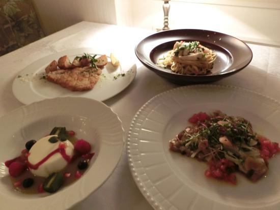 Al Porto: お料理教室に参加した時のランチコース内容