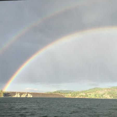 Pactola Pines Marina: Over the Rainbow