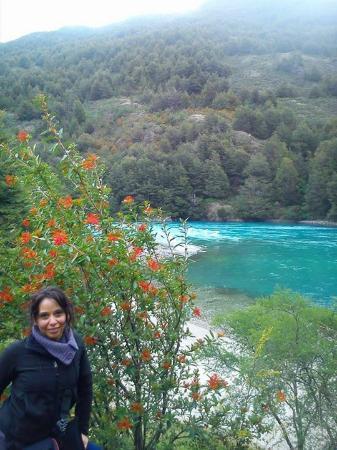 Puerto Bertrand, Χιλή: bajada al rio