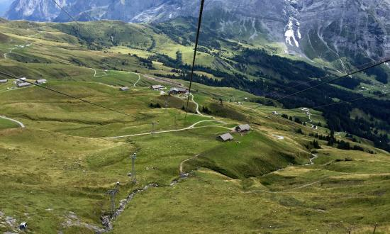 Grindelwald, Switzerland: From the start area