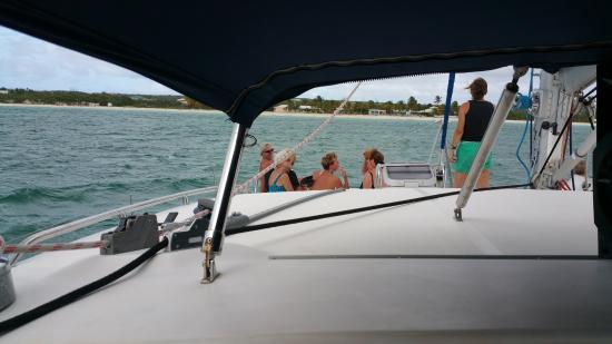 Simpson Bay, St. Maarten-St. Martin: Net lounging
