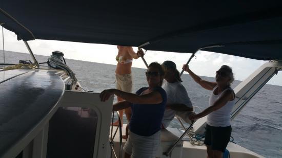 Simpson Bay, St. Maarten-St. Martin: Away we go
