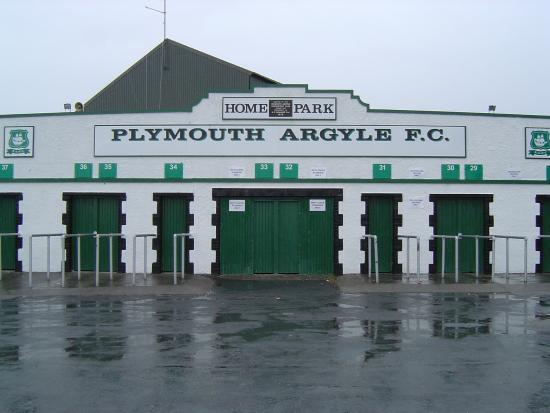 Plymouth Argyle Home Park Football Stadium
