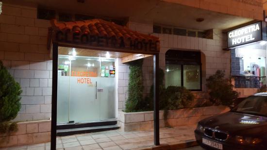 Cleopetra Hotel: Entrance