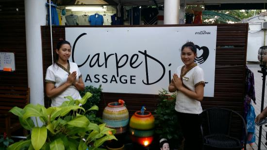 Massage carpe diem