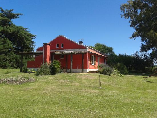 La Chacra de los Olivos: Vista de la casa y parque