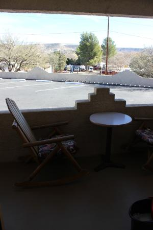 Fort Verde Suites: View from porch