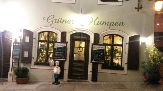 Gruner Humpen Zu Meissen
