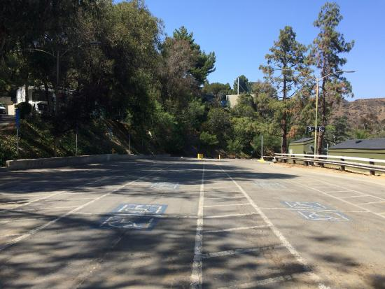The parking lot picture of hollywood bowl museum los for Lax long term parking lot