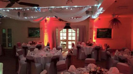 Wincham, UK: The Wedding Breakfast Room all set up