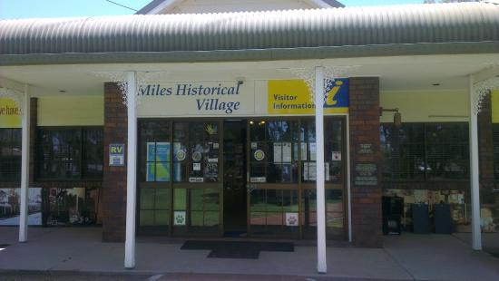 Miles Historical Village and Museum: Entrance
