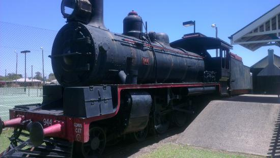 Miles Historical Village and Museum: Locomotive
