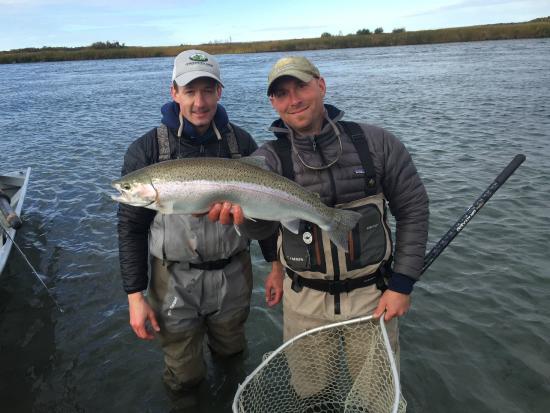 Iliamna, AK: Kvichak River Rainbow