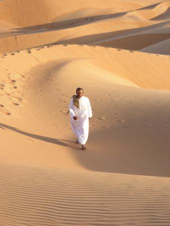 Wahiba Sands : Obaid the bedu owner @ Wahiba sand