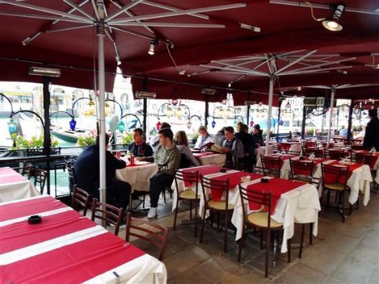 Outside dining area. - Picture of Ristorante Terrazza Sommariva ...