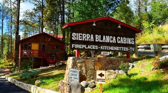 Sierra Blanca Cabins Ruidoso New Mexico Campground