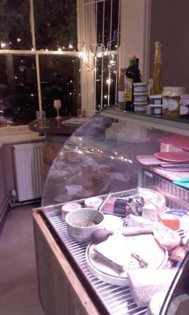 Strawberry Fields Food Emporium: Cold counter