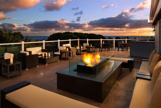 Laguna Cliffs Marriott Resort & Spa: Greet the evening with an Ocean and Sunset View from our OverVue Deck