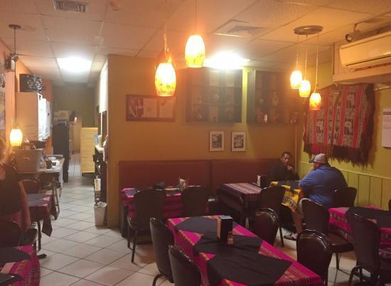 Peruvian Grill Dining Room Sarasota Fl
