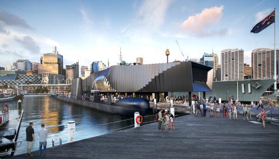 Musée national de la marine de Sydney : Action Stations Pavillion