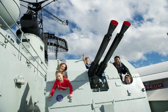 Musée national de la marine de Sydney : Onboard HMAS Vampire at the Maritime Museum