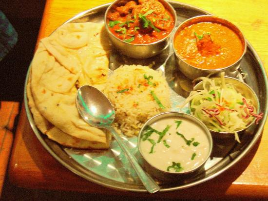 Indiaas Tandoori Restaurant Simla : Thali Speciaal