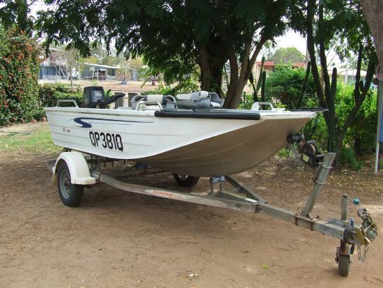 Normanton, Australia: Park Boat Hire